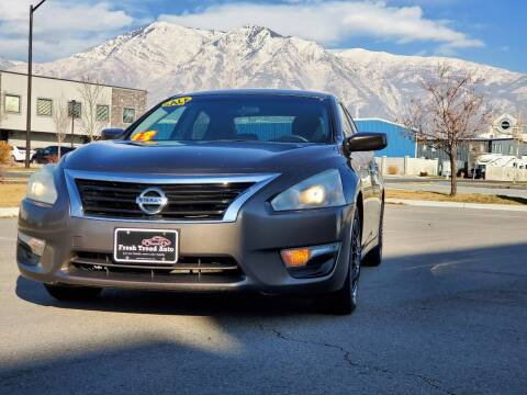 2013 Nissan Altima for sale at FRESH TREAD AUTO LLC in Springville UT