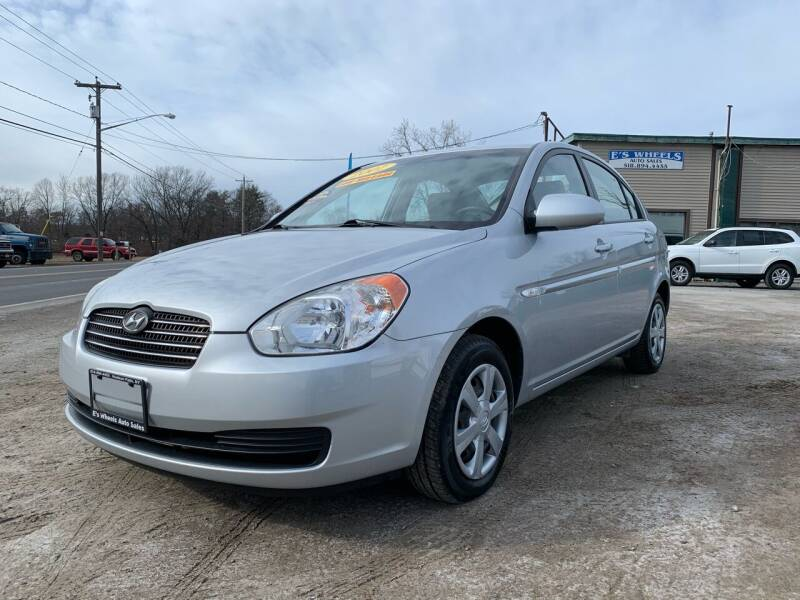 2007 Hyundai Accent for sale at E's Wheels Auto Sales in Hudson Falls NY