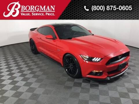 2017 Ford Mustang for sale at BORGMAN OF HOLLAND LLC in Holland MI