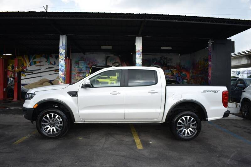 2019 Ford Ranger 4x4 Lariat 4dr SuperCrew 5.1 ft. SB Pickup - Miami FL