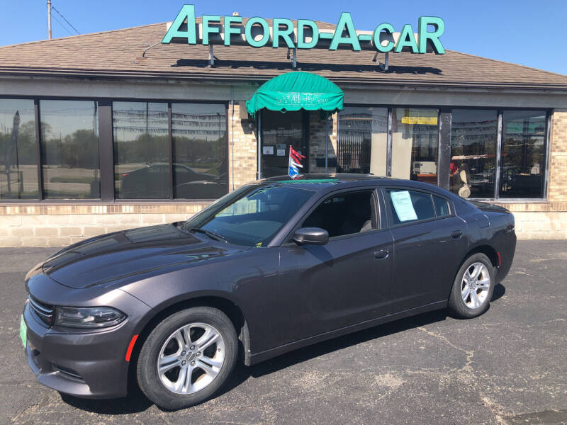 2015 Dodge Charger for sale at Afford-A-Car in Moraine OH