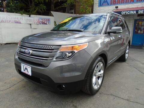 2013 Ford Explorer for sale at IBARRA MOTORS INC in Cicero IL
