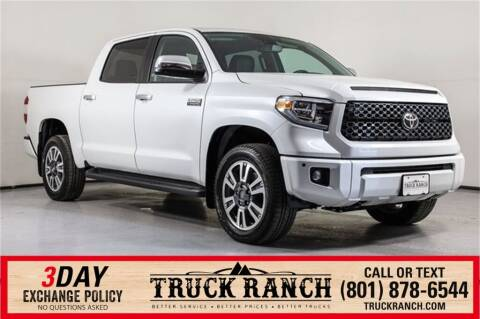 2021 Toyota Tundra for sale at Truck Ranch in American Fork UT