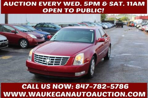 2006 Cadillac DTS for sale at Waukegan Auto Auction in Waukegan IL