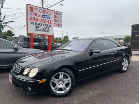 2004 Mercedes-Benz CL-Class for sale at 1st Choice Auto Sales in Newport News VA