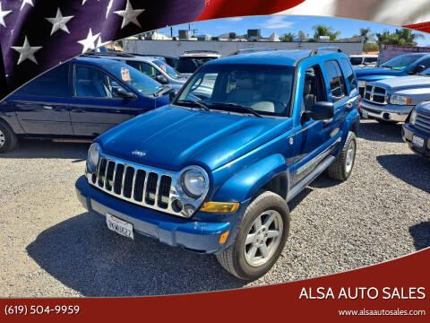 2006 Jeep Liberty for sale at ALSA Auto Sales in El Cajon CA