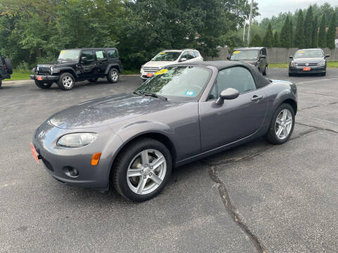 2006 Mazda MX-5 Miata for sale at Glen's Auto Sales in Fremont NH