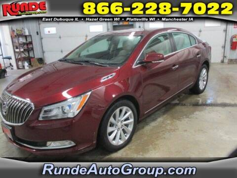 2016 Buick LaCrosse for sale at Runde Chevrolet in East Dubuque IL