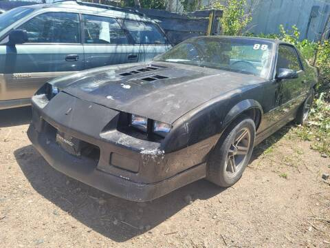 1989 Chevrolet Camaro for sale at PB&J Auto in Cheyenne WY