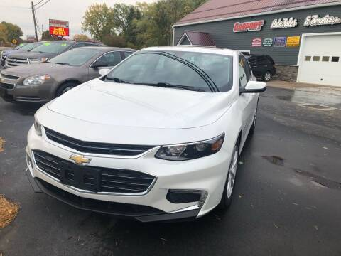 2017 Chevrolet Malibu for sale at KEV'S GASPORT AUTO SALES AND SERVICE, INC in Gasport NY