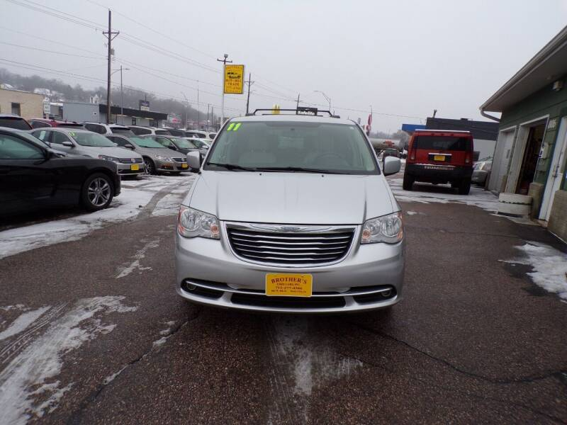 2011 Chrysler Town and Country for sale at Brothers Used Cars Inc in Sioux City IA
