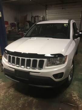 2012 Jeep Compass for sale at Hamburg Motors in Hamburg NY