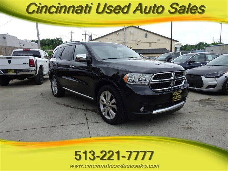 2011 Dodge Durango for sale in Cincinnati, OH
