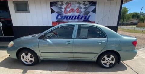 2005 Toyota Corolla for sale at Car Country in Victoria TX