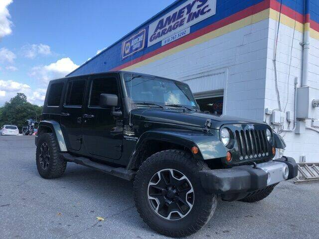2010 Jeep Wrangler Unlimited for sale in Cherryville, PA