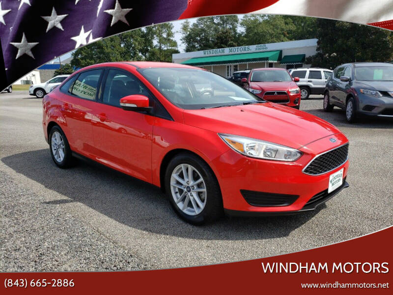 2017 Ford Focus for sale at Windham Motors in Florence SC