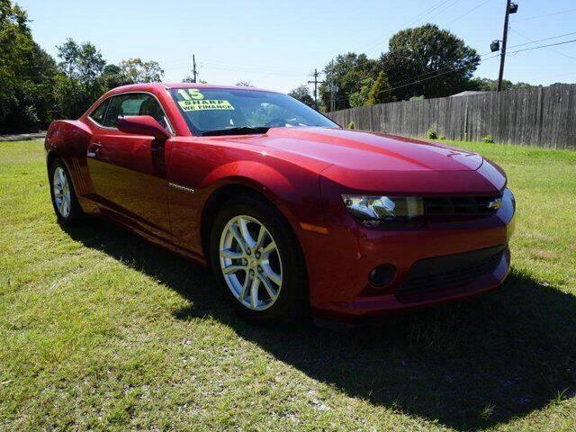 2015 Chevrolet Camaro for sale at BLUE RIBBON MOTORS in Baton Rouge LA