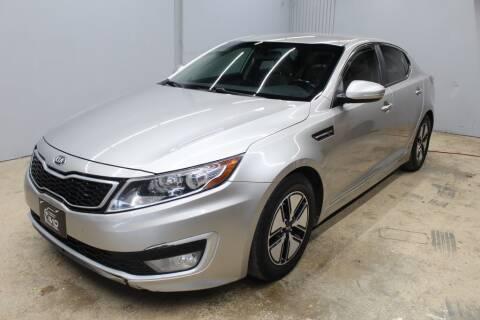 2012 Kia Optima Hybrid for sale at Flash Auto Sales in Garland TX