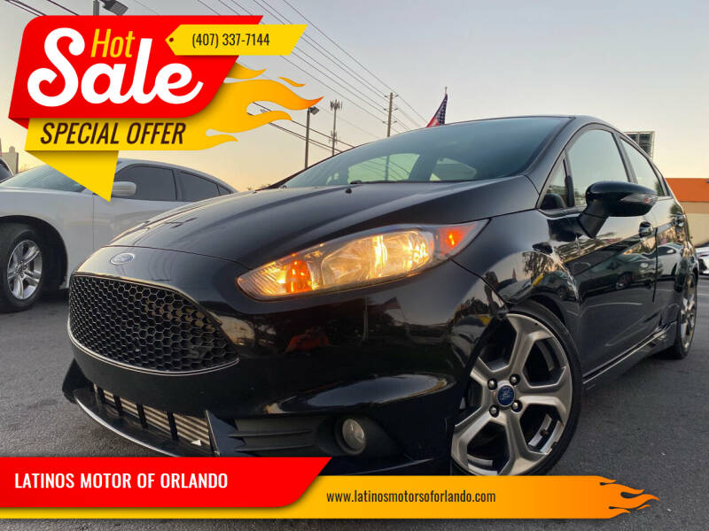 2017 Ford Fiesta for sale at LATINOS MOTOR OF ORLANDO in Orlando FL