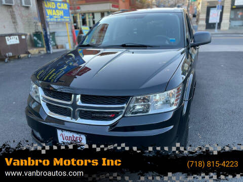 2014 Dodge Journey for sale at Vanbro Motors Inc in Staten Island NY