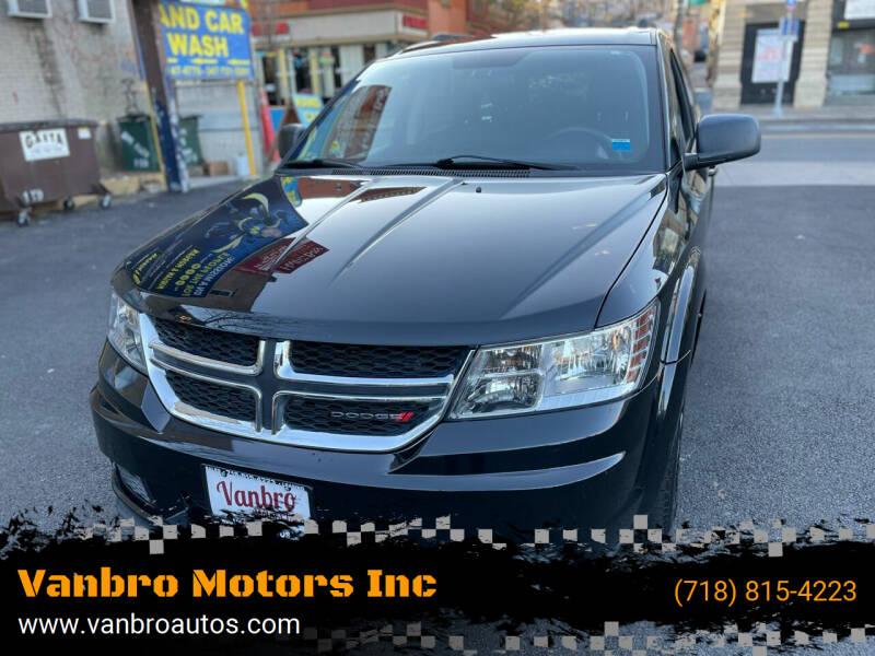 2014 Dodge Journey for sale at Vanbro Motors Inc in Staten Island NY