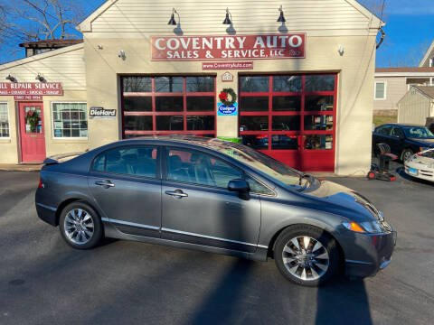 2009 Honda Civic for sale at COVENTRY AUTO SALES in Coventry CT