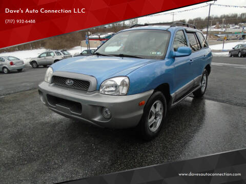 2004 Hyundai Santa Fe for sale at Dave's Auto Connection LLC in Etters PA
