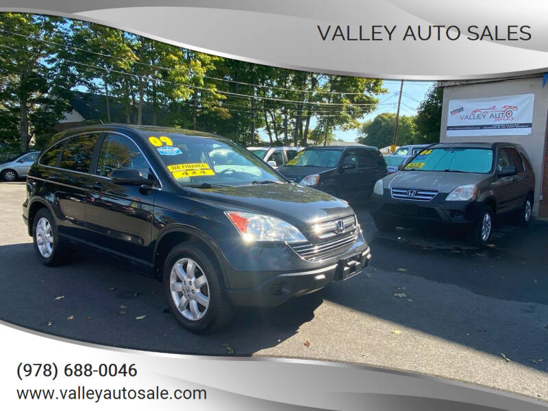 2009 Honda CR-V for sale at VALLEY AUTO SALES in Methuen MA