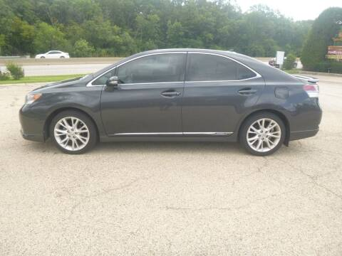 2010 Lexus HS 250h for sale at NEW RIDE INC in Evanston IL