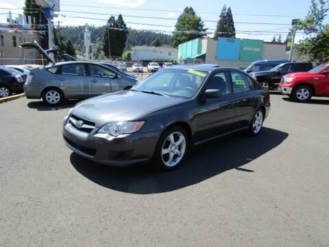 2009 Subaru Legacy for sale at ARISTA CAR COMPANY LLC in Portland OR