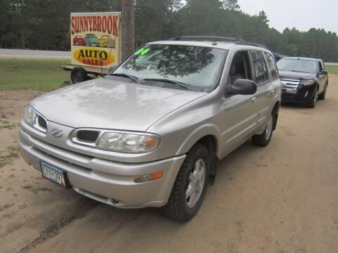 2004 Oldsmobile Bravada for sale at SUNNYBROOK USED CARS in Menahga MN