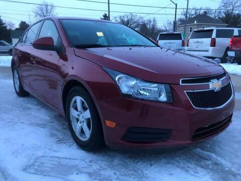 2014 Chevrolet Cruze for sale at Auto Gallery LLC in Burlington WI
