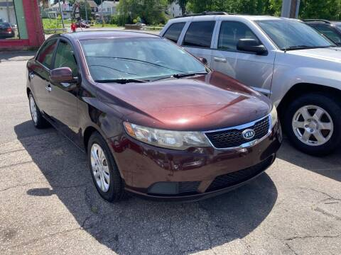 2011 Kia Forte for sale at ENFIELD STREET AUTO SALES in Enfield CT