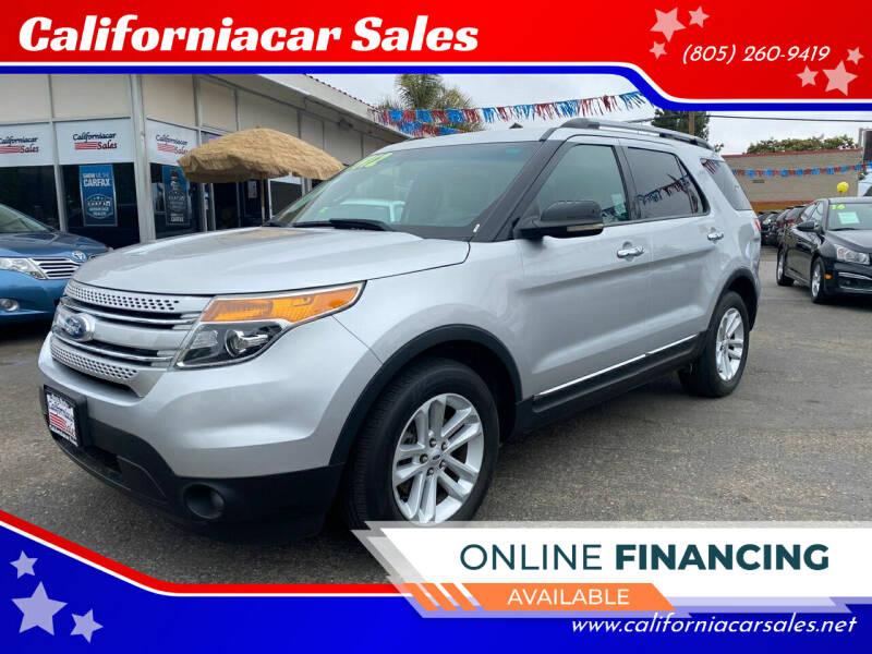 2012 Ford Explorer for sale at Californiacar Sales in Santa Maria CA