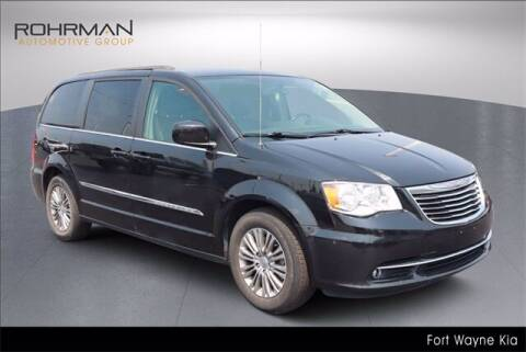 2015 Chrysler Town and Country for sale at BOB ROHRMAN FORT WAYNE TOYOTA in Fort Wayne IN