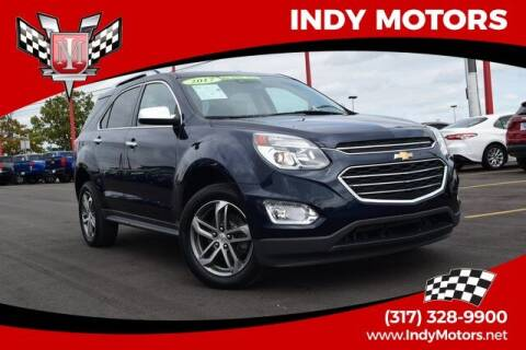2017 Chevrolet Equinox for sale at Indy Motors Inc in Indianapolis IN
