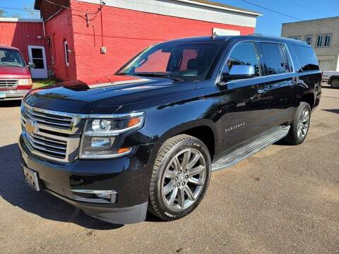 2015 Chevrolet Suburban for sale at WB Auto Sales LLC in Barnum MN