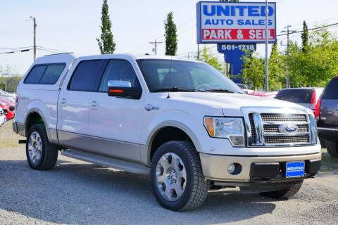 2010 Ford F-150 for sale at United Auto Sales in Anchorage AK
