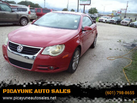 2008 Volkswagen Eos for sale at PICAYUNE AUTO SALES in Picayune MS