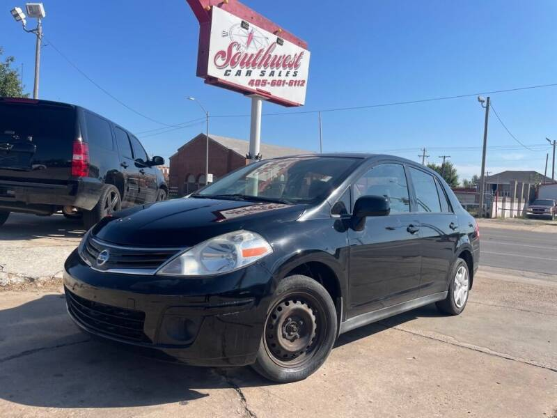 2010 Nissan Versa for sale at Southwest Car Sales in Oklahoma City OK