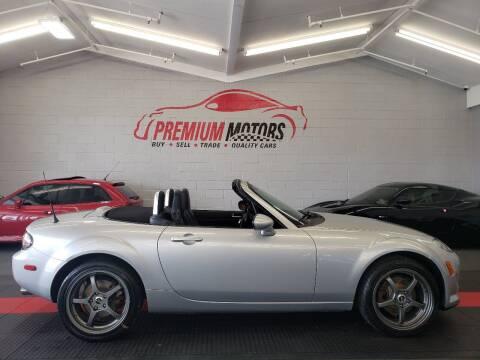 2007 Mazda MX-5 Miata for sale at Premium Motors in Villa Park IL