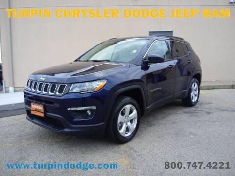 2021 Jeep Compass for sale at Turpin Dodge Chrysler Jeep Ram in Dubuque IA
