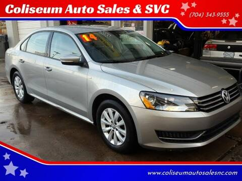 2014 Volkswagen Passat for sale at Coliseum Auto Sales & SVC in Charlotte NC