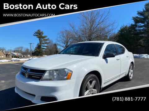 2013 Dodge Avenger for sale at Boston Auto Cars in Dedham MA