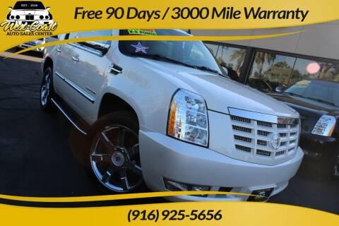 2013 Cadillac Escalade for sale at West Coast Auto Sales Center in Sacramento CA
