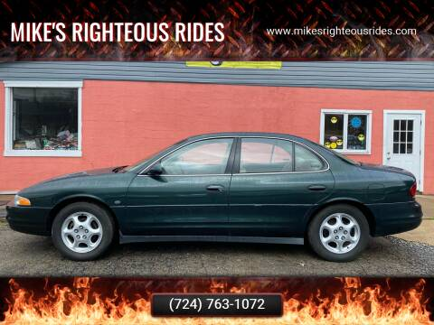 1999 Oldsmobile Intrigue for sale at Mike's Righteous Rides in Mc Grann PA