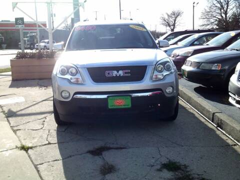 2008 GMC Acadia for sale at JIMS AUTO MART INC in Milwaukee WI
