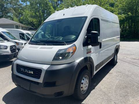 2019 RAM ProMaster Cargo for sale at RC Auto Brokers, LLC in Marietta GA