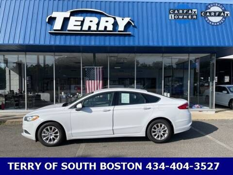 2018 Ford Fusion for sale at Terry of South Boston in South Boston VA