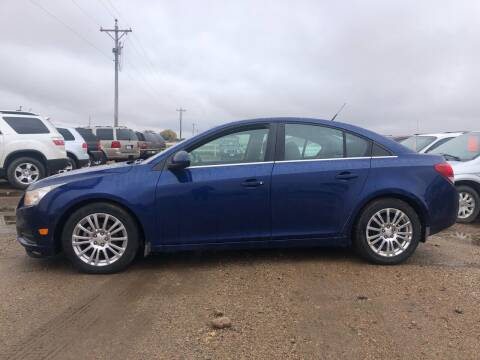 2012 Chevrolet Cruze for sale at TnT Auto Plex in Platte SD